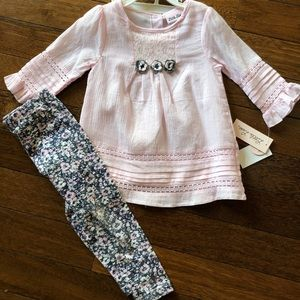 Little Lass Toddler Girl spring outfit Sz 3T